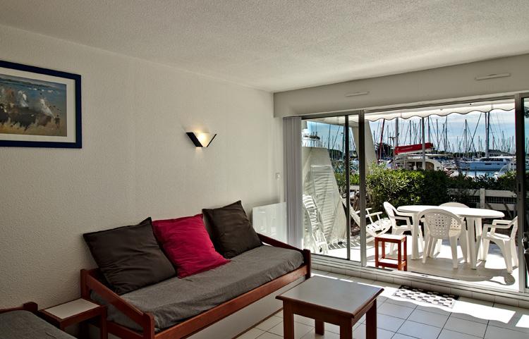 Terrasse et jardin pour un appartement en rez de jardin