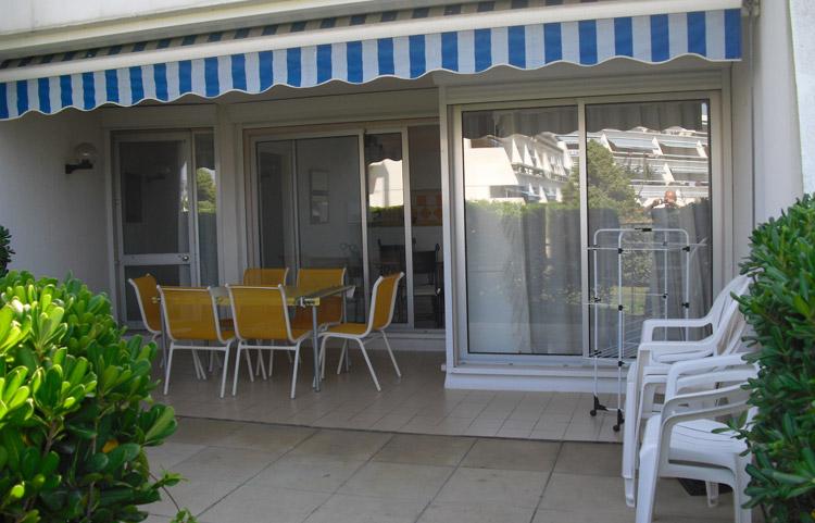 Terrasse et jardin Résidence Ulysse